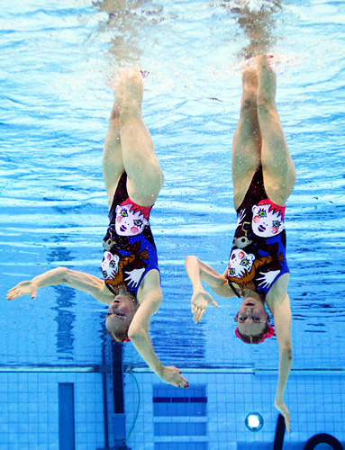 Olympics Synchronized Swimming Russia