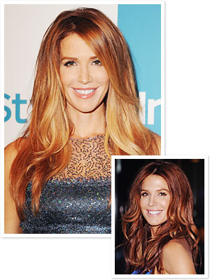 Poppy Montgomery's New Hair