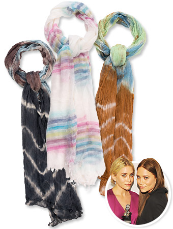 Mary-Kate and Ashley Olsen Stylemint Scarves