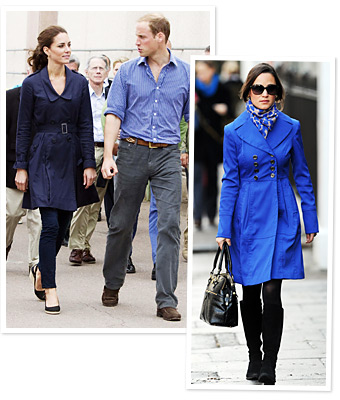 Kate Middleton, Prince William, Pippa Middleton