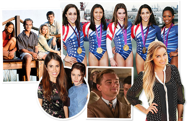Dawson's Creek, InStyle's Summer Soiree, USA Gymnastics, The Great Gatsby