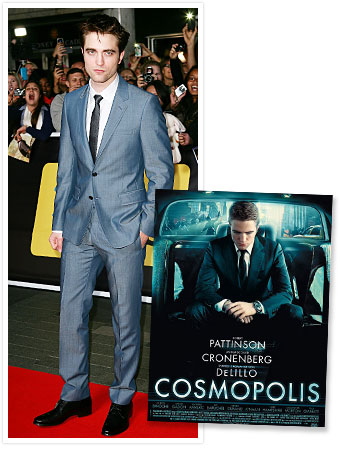 Robert Pattinson Cosmopolis Interview