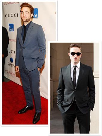 Robert Pattinson Cosmopolis Premiere Gucci