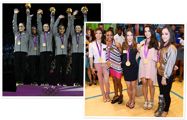 Fierce Five Olympic Gymnasts