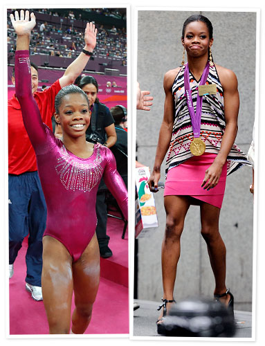Gabby Douglas New York