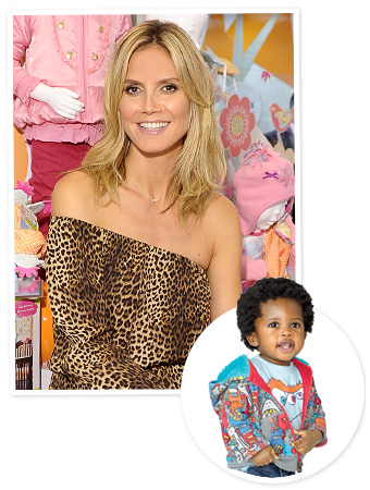 Heidi Klum Truly Scrumptious Kid Line