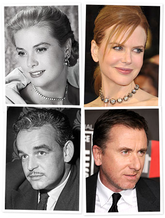 Grace Kelly, Prince Rainier, Nicole Kidman, Tim Roth