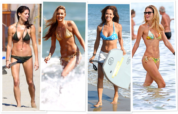 Ashley Greene, Megan Rossee, Brooke Burke, Doutzen Kroes