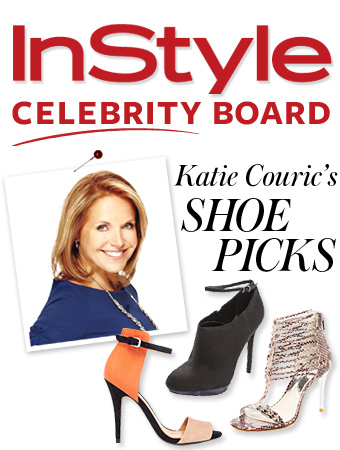 Katie Couric, shoes