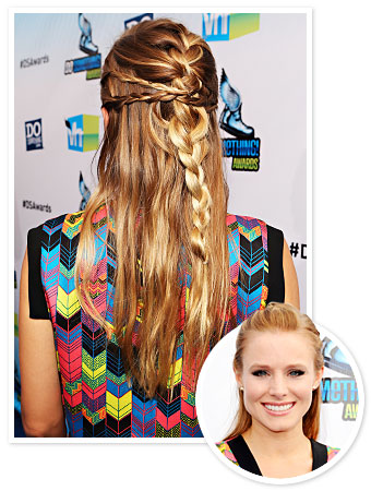 Kristen Bell Hair - Braid