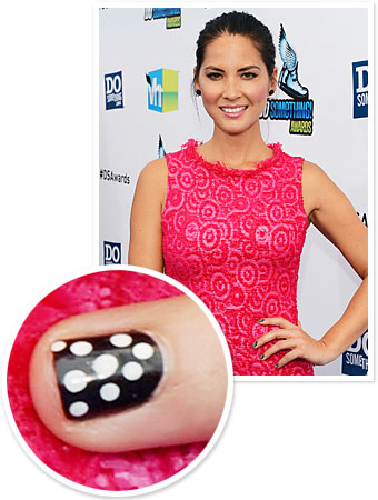 Olivia Munn Manicure - Nails