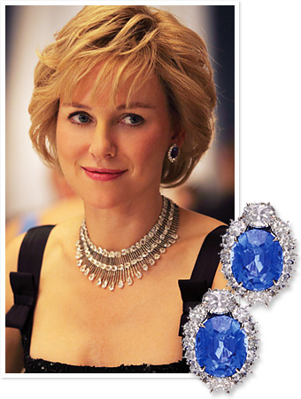 Naomi Watts Princess Diana, Chopard