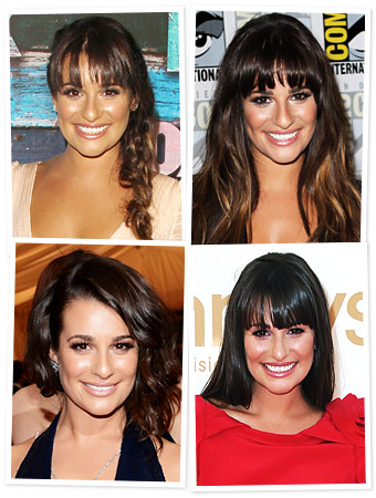 Lea Michele Hair