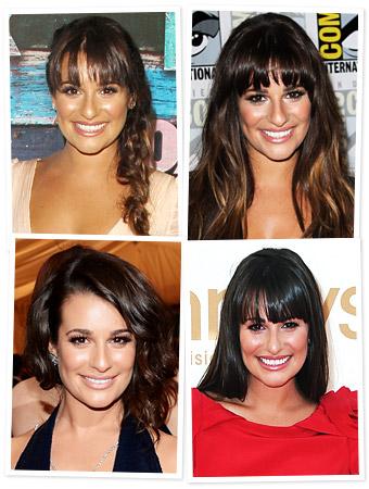 Lea Michele Hair
