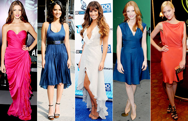 Ashley Greene, Olivia Munn, Lea Michele, Jessica Chastain, Jaime King