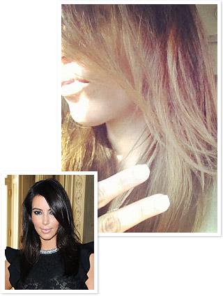 Kim Kardashian Hair
