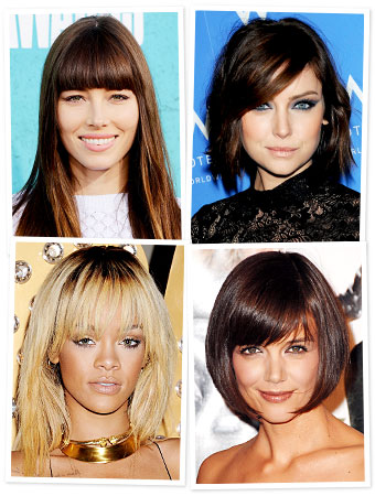 Bangs - Bang Hairstyles