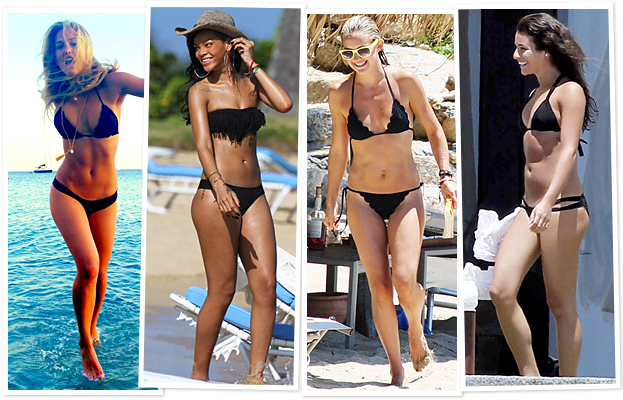 Bar Rafaeli, Rihanna, Kate Hudson, Lea Michele
