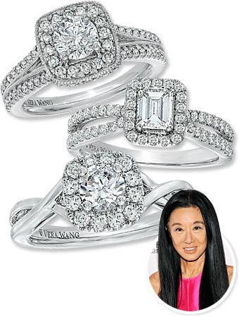 vera wang, rings