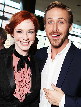 Christina Hendricks Ryan Gosling