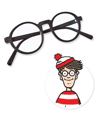 Warby Parker Where's Waldo