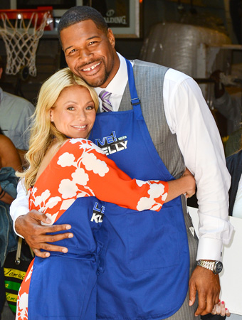 Kelly Ripa, Michael Strahan
