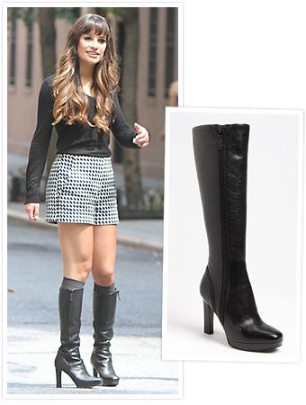Lea Michele Boots