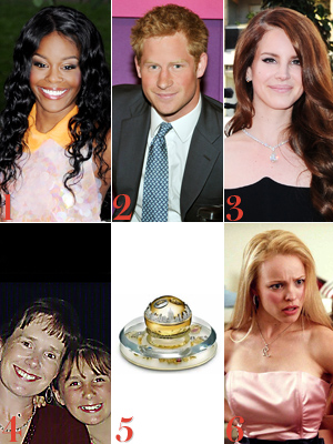 Azealia Banks, Prince Harry, Lana Del Rey