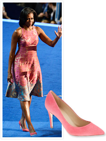 Michelle Obama Tracy Reese J.Crew