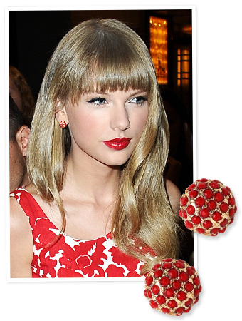 Taylor Swift Baublebar Earrings