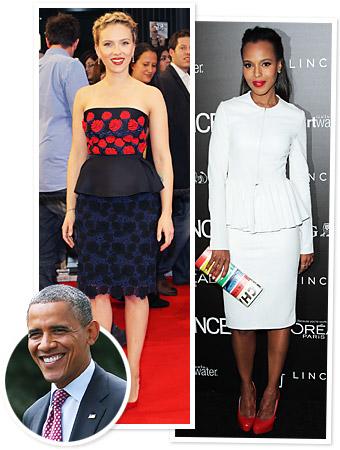 Scarlett Johansson Kerry Washington Obama