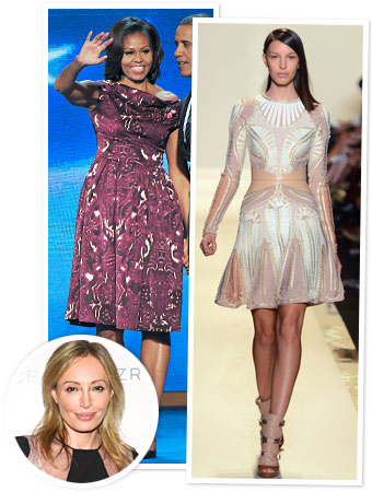 Michelle Obama Herve Leger
