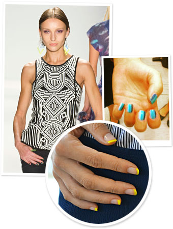 New York Fashion Week - Nail Art - Runway Manicures