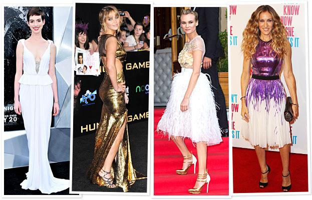 Anne Hathaway, Jennifer Lawrence, Diane Kruger, Sarah Jessica Parker