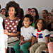 Kids Sit Front Row (and Go Backstage) at New York Fashion Week