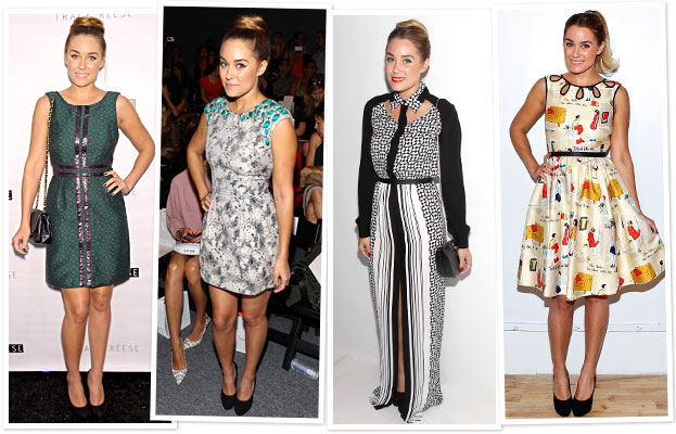 Lauren Conrad New York Fashion Week