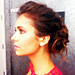 The Making of Nina Dobrev&#039;s Amazing Updo: Exclusive Behind-the-Scenes Photos