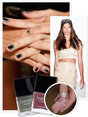 Fashion Week Nail Art - Runway Nail Art