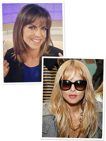 Bangs - Rachel Zoe - New Hair