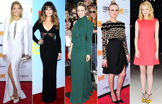 Kate Hudson, Lea Michele, Rachel McAdams, Diane Kruger, Emma Stone
