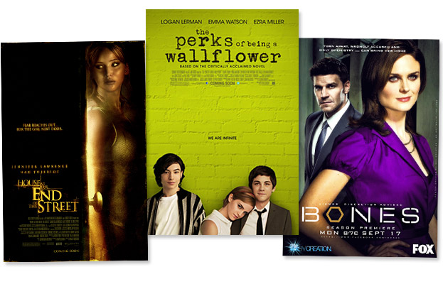 Perks of Being a Wallflower, House at the End of the Street, Bones