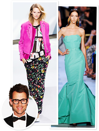 Brad Goreski fashion week spring 2013