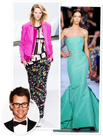 Brad Goreski fashion week spring 2013