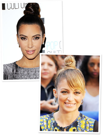 Kim Kardashian and Nicole Richie