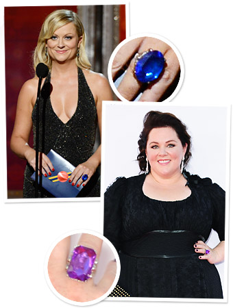 Emmys Red Carpet Jewelry