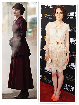 Michelle Dockery Mary Crawley