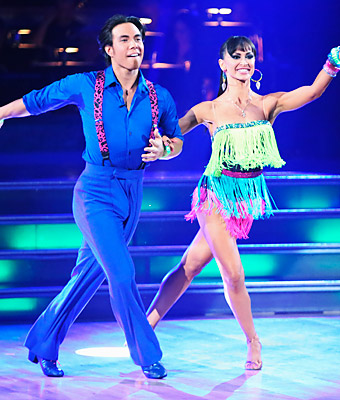 Karina Smirnoff and Apolo Anton Ohno