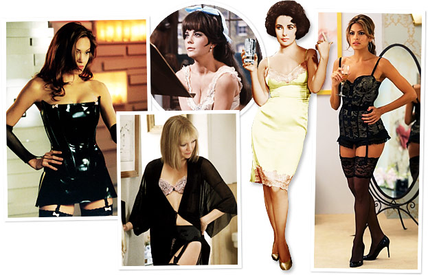 Angelina Jolie, Natalie Wood, Kate Hudson, Elizabeth Taylor, Eva Mendes