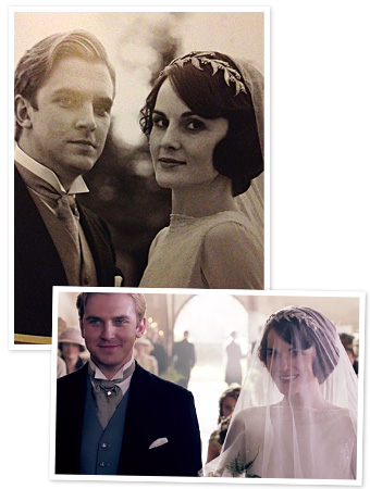 Lady Mary Crawley wedding