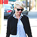 Michelle Williams Wears Unreleased Narciso Rodriguez While Walking Her Dog
